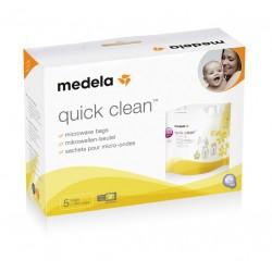 Quick Clean de 5 sachets pour 100 stérilisations au micro- ondes